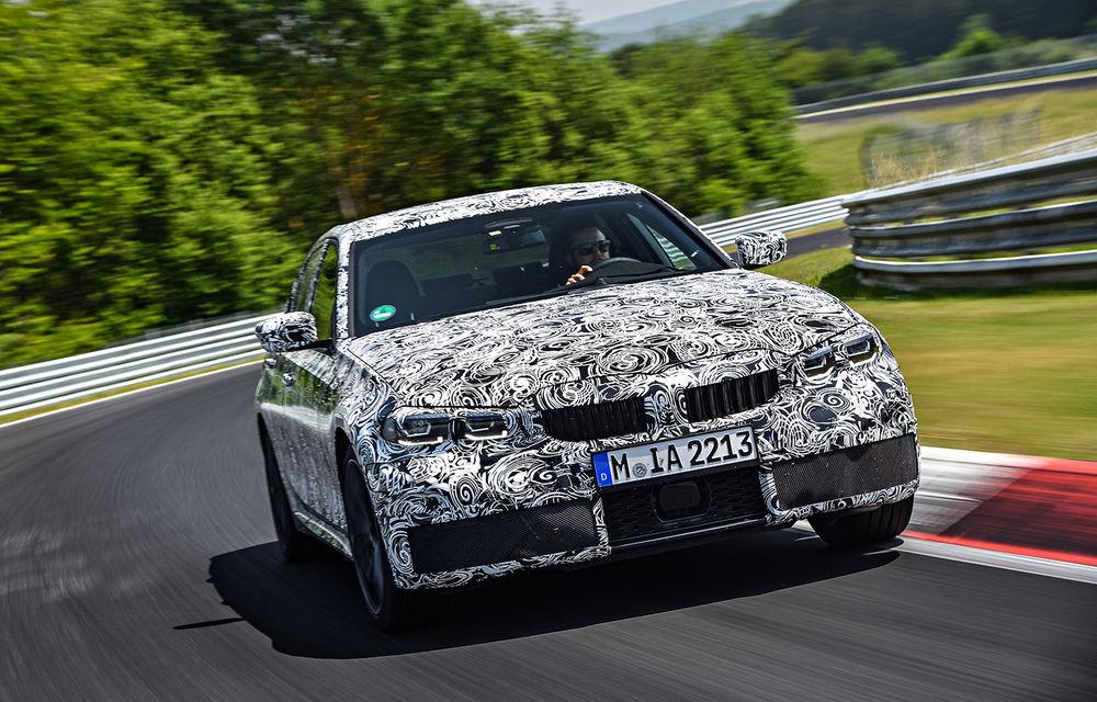 Detalii despre noua generație BMW Seria 3: masă redusă, comportament dinamic îmbunătățit și cel mai puternic motor cu 4 cilindri din istoria companiei - Poza 15
