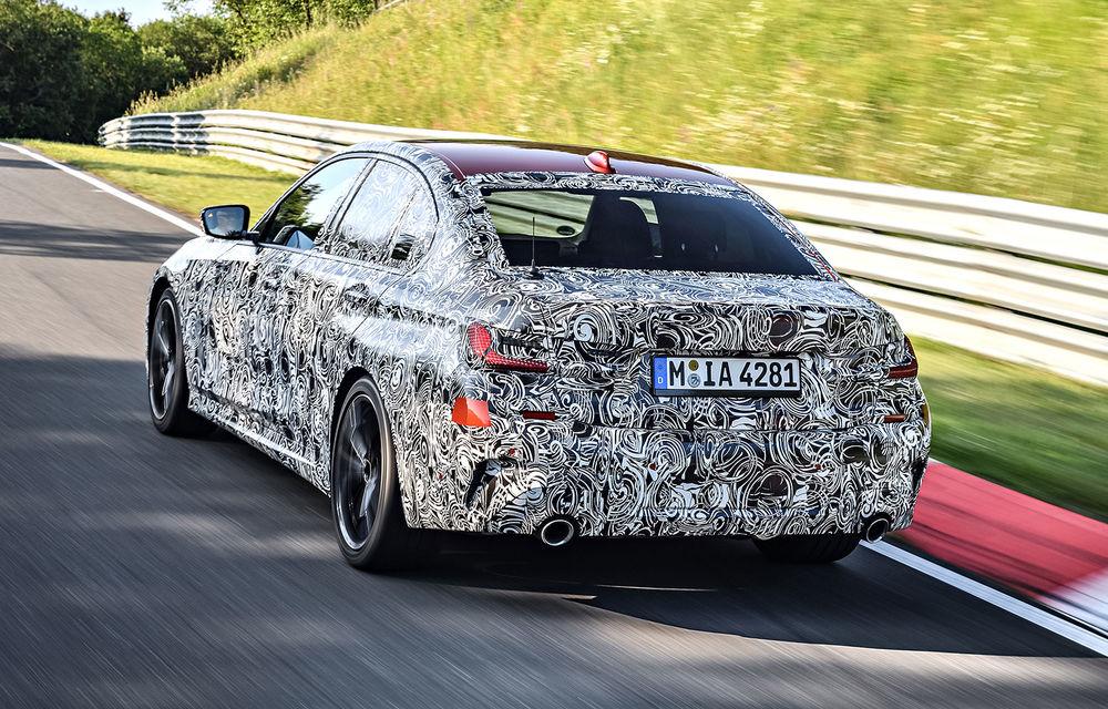 Detalii despre noua generație BMW Seria 3: masă redusă, comportament dinamic îmbunătățit și cel mai puternic motor cu 4 cilindri din istoria companiei - Poza 9