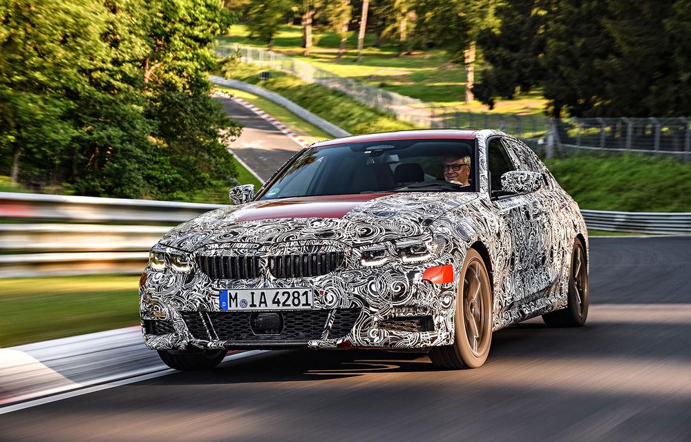 Detalii despre noua generație BMW Seria 3: masă redusă, comportament dinamic îmbunătățit și cel mai puternic motor cu 4 cilindri din istoria companiei - Poza 3