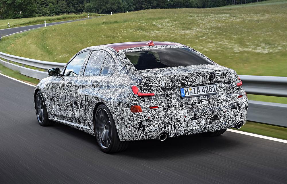 Detalii despre noua generație BMW Seria 3: masă redusă, comportament dinamic îmbunătățit și cel mai puternic motor cu 4 cilindri din istoria companiei - Poza 28