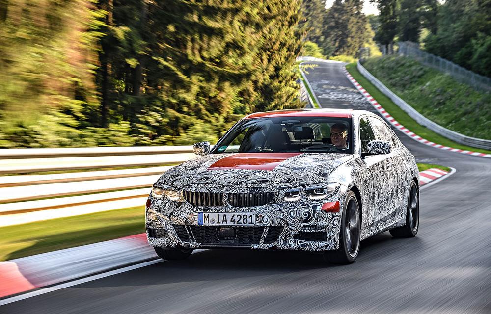 Detalii despre noua generație BMW Seria 3: masă redusă, comportament dinamic îmbunătățit și cel mai puternic motor cu 4 cilindri din istoria companiei - Poza 2