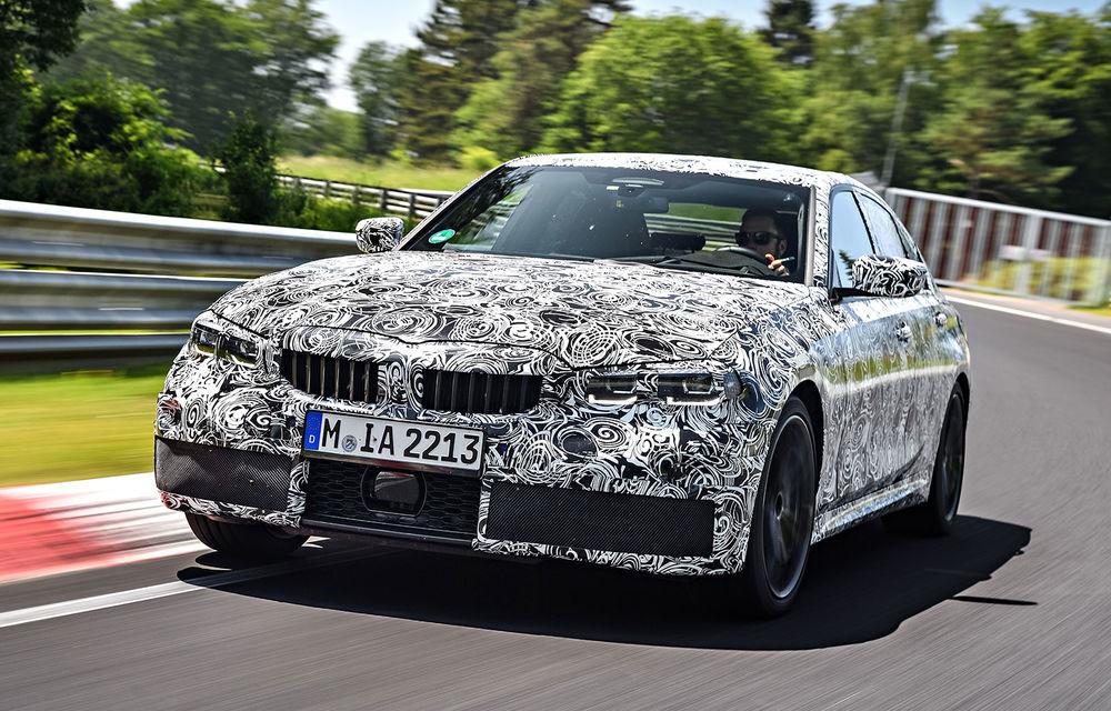 Detalii despre noua generație BMW Seria 3: masă redusă, comportament dinamic îmbunătățit și cel mai puternic motor cu 4 cilindri din istoria companiei - Poza 17