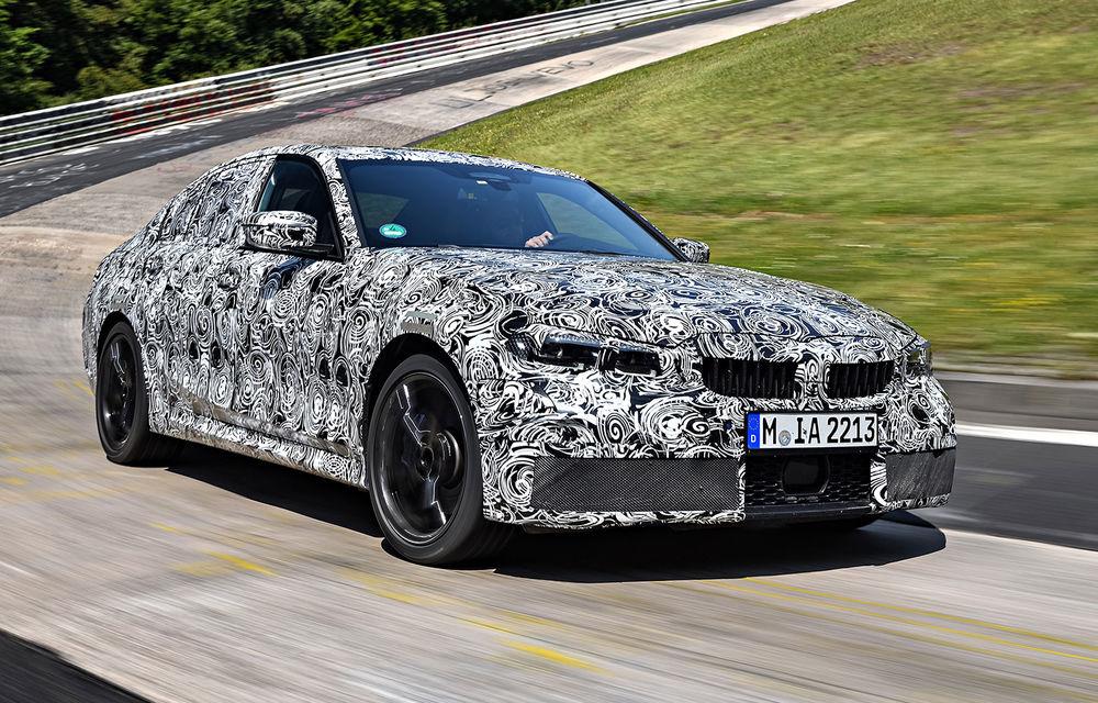 Detalii despre noua generație BMW Seria 3: masă redusă, comportament dinamic îmbunătățit și cel mai puternic motor cu 4 cilindri din istoria companiei - Poza 14