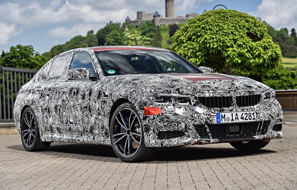 Detalii despre noua generație BMW Seria 3: masă redusă, comportament dinamic îmbunătățit și cel mai puternic motor cu 4 cilindri din istoria companiei - Poza 32