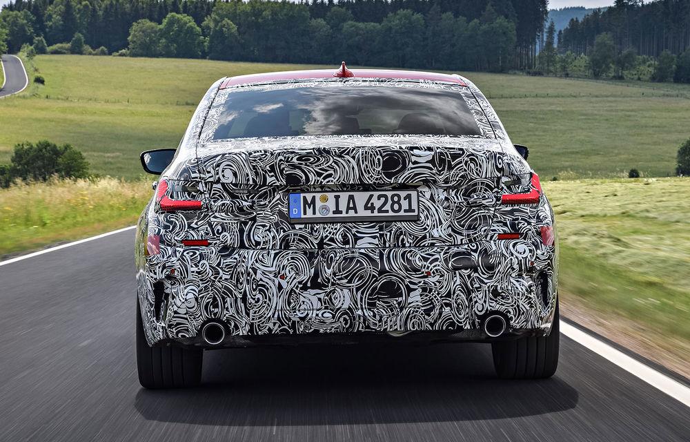 Detalii despre noua generație BMW Seria 3: masă redusă, comportament dinamic îmbunătățit și cel mai puternic motor cu 4 cilindri din istoria companiei - Poza 31