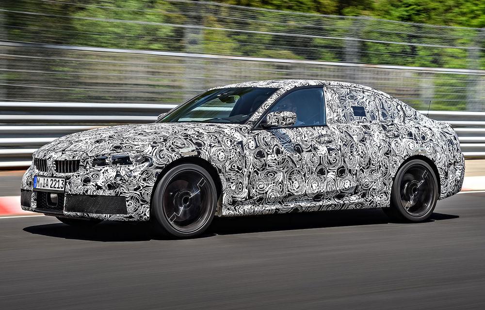 Detalii despre noua generație BMW Seria 3: masă redusă, comportament dinamic îmbunătățit și cel mai puternic motor cu 4 cilindri din istoria companiei - Poza 18