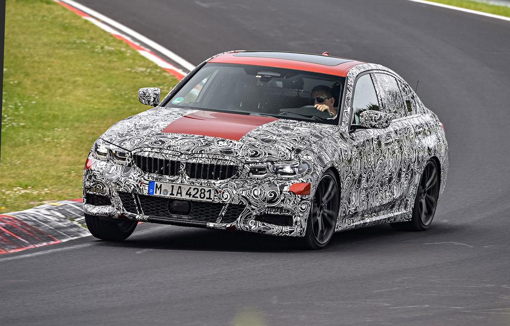 Detalii despre noua generație BMW Seria 3: masă redusă, comportament dinamic îmbunătățit și cel mai puternic motor cu 4 cilindri din istoria companiei - Poza 4