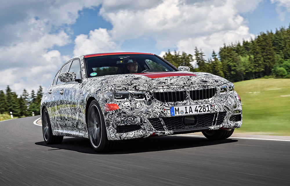 Detalii despre noua generație BMW Seria 3: masă redusă, comportament dinamic îmbunătățit și cel mai puternic motor cu 4 cilindri din istoria companiei - Poza 27