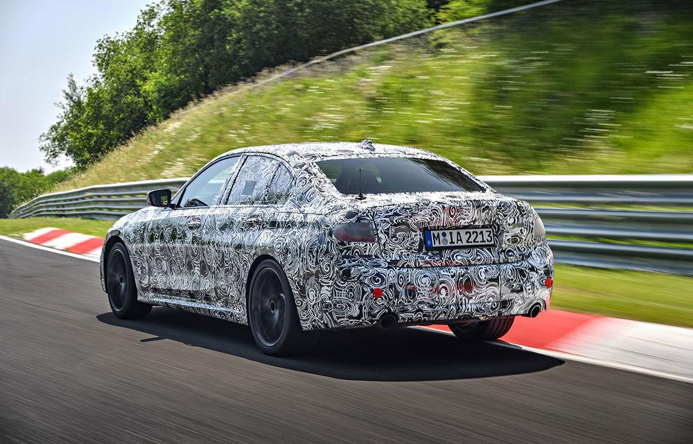 Detalii despre noua generație BMW Seria 3: masă redusă, comportament dinamic îmbunătățit și cel mai puternic motor cu 4 cilindri din istoria companiei - Poza 20