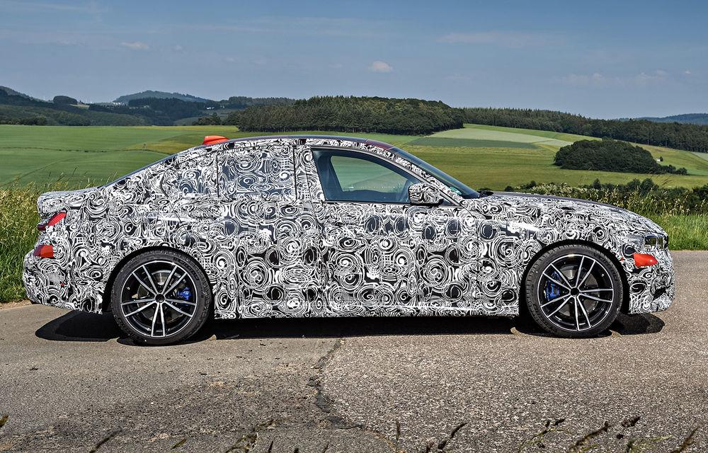 Detalii despre noua generație BMW Seria 3: masă redusă, comportament dinamic îmbunătățit și cel mai puternic motor cu 4 cilindri din istoria companiei - Poza 37