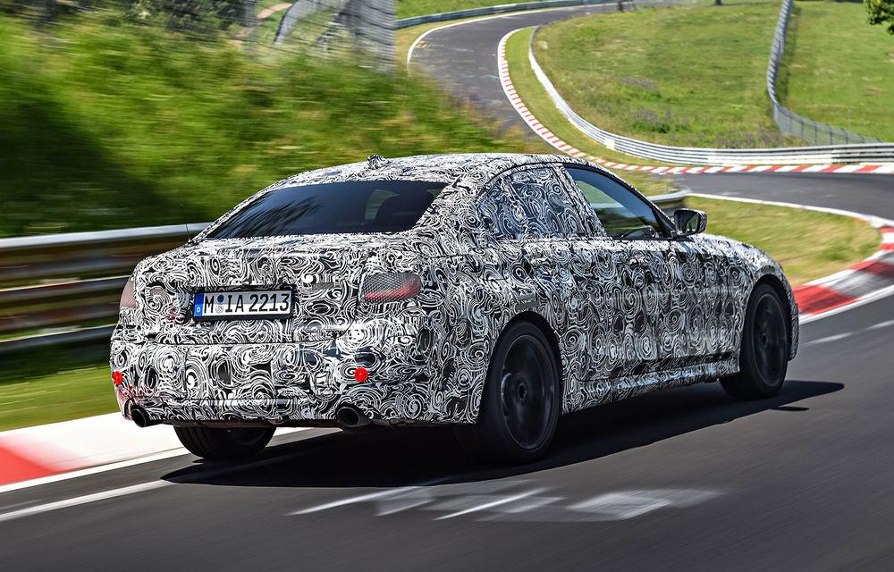 Detalii despre noua generație BMW Seria 3: masă redusă, comportament dinamic îmbunătățit și cel mai puternic motor cu 4 cilindri din istoria companiei - Poza 19