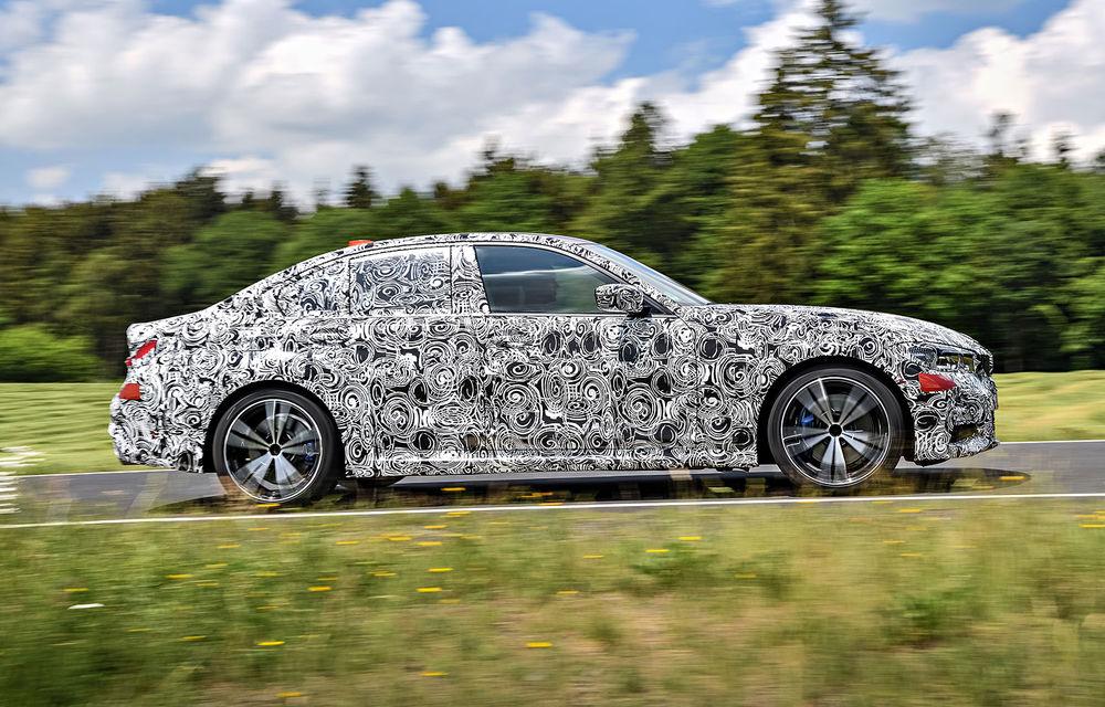 Detalii despre noua generație BMW Seria 3: masă redusă, comportament dinamic îmbunătățit și cel mai puternic motor cu 4 cilindri din istoria companiei - Poza 30