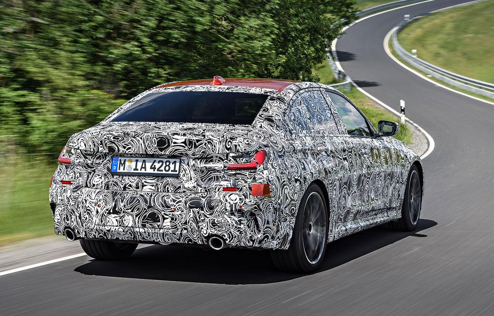 Detalii despre noua generație BMW Seria 3: masă redusă, comportament dinamic îmbunătățit și cel mai puternic motor cu 4 cilindri din istoria companiei - Poza 29