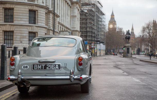 Aston Martin va construi 25 de replici ale mașinii lui James Bond: fiecare DB5 Goldfinger va costa 2.75 milioane de lire. Livrările încep în 2020 - Poza 5