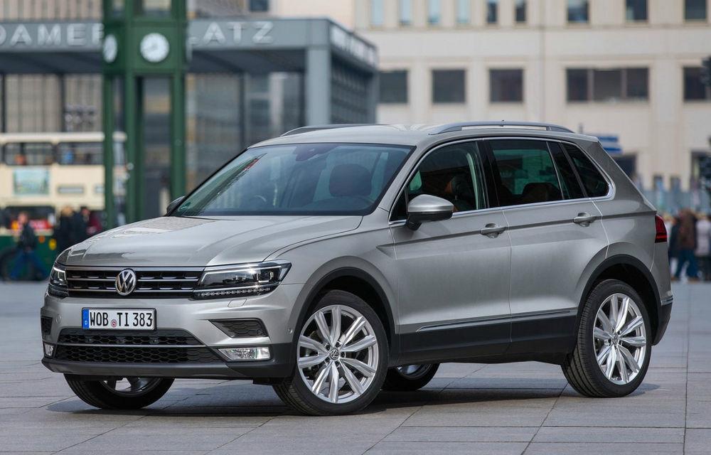 Volkswagen pregătește un recall de 700.000 de unități Tiguan și Touran: risc de incendiu la plafonul panoramic - Poza 1
