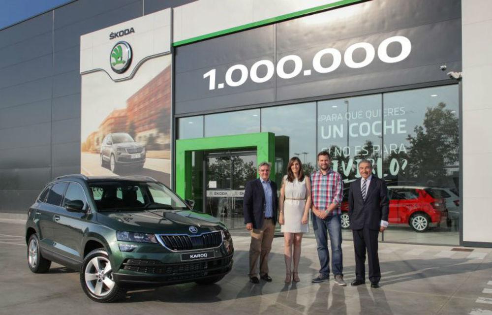 Sărbătoare la Skoda: cehii au ajuns la o producție de un milion de SUV-uri de la lansarea lui Yeti încoace - Poza 1