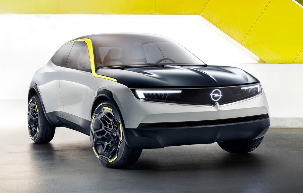 Opel GT X Experimental: conceptul 100% electric anticipează viitoarea direcție de design a mărcii - Poza 1