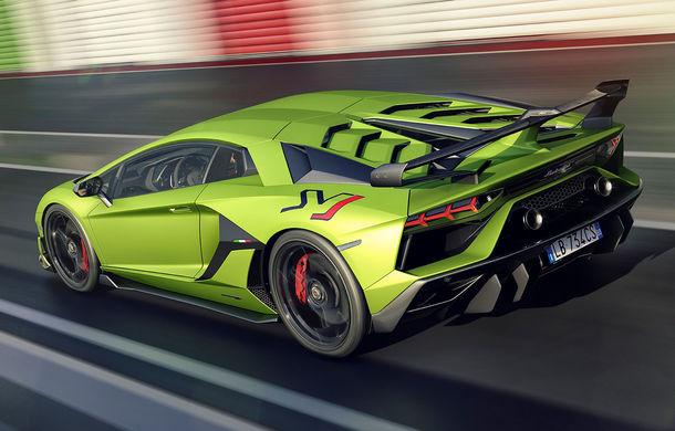 Lamborghini Aventador SVJ, imagini și detalii oficiale: supercar-ul italienilor are direcție integrală, 770 CP și o viteză maximă de peste 350 km/h - Poza 2