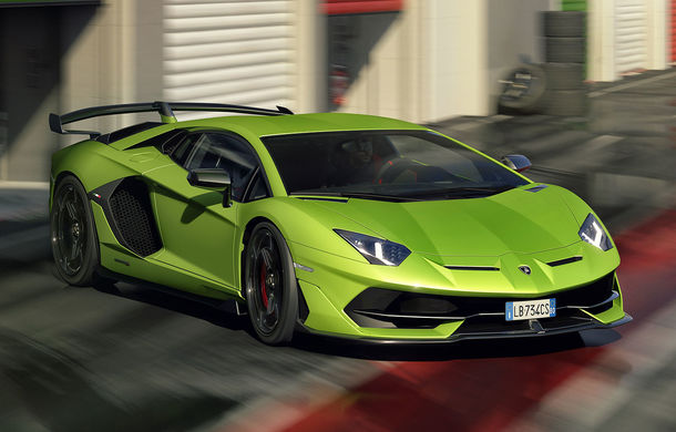 Lamborghini Aventador SVJ, imagini și detalii oficiale: supercar-ul italienilor are direcție integrală, 770 CP și o viteză maximă de peste 350 km/h - Poza 1