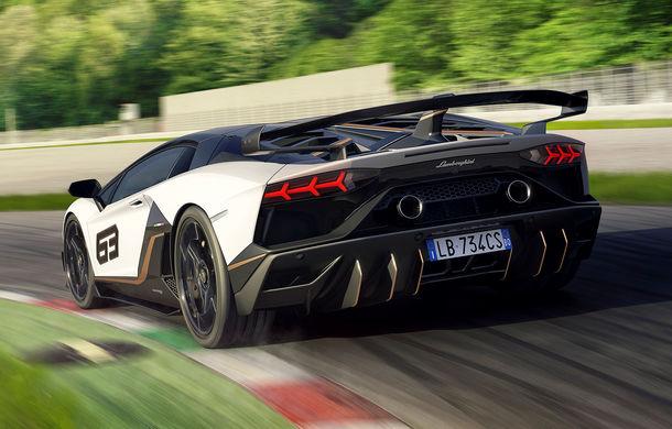 Lamborghini Aventador SVJ, imagini și detalii oficiale: supercar-ul italienilor are direcție integrală, 770 CP și o viteză maximă de peste 350 km/h - Poza 10