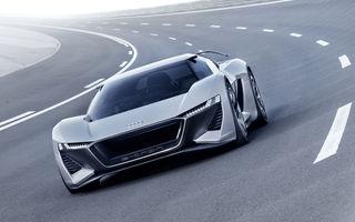 Audi PB18 e-tron: conceptul electric cu 680 CP accelerează de la 0 la 100 km/h în două secunde