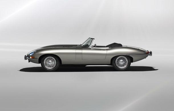 Jaguar va lansa o versiune electrică pentru clasicul E-type: vânzările vor începe din vara lui 2020 - Poza 3