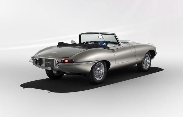 Jaguar va lansa o versiune electrică pentru clasicul E-type: vânzările vor începe din vara lui 2020 - Poza 2