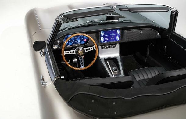 Jaguar va lansa o versiune electrică pentru clasicul E-type: vânzările vor începe din vara lui 2020 - Poza 5