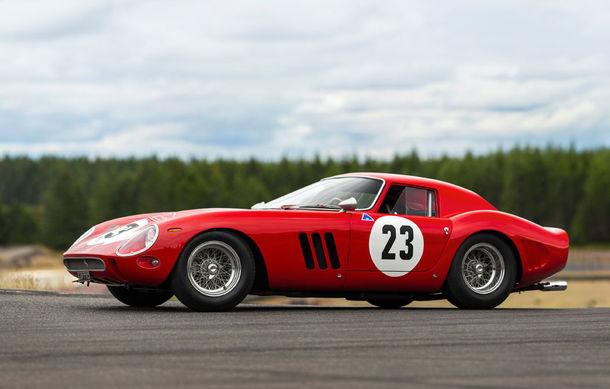 Un nou record: un Ferrari 250 GTO a fost vândut la licitație pentru 48.4 milioane de dolari - Poza 2