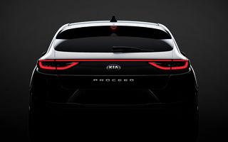 Primul teaser pentru Kia ProCeed: noul shooting brake se lansează în 13 septembrie