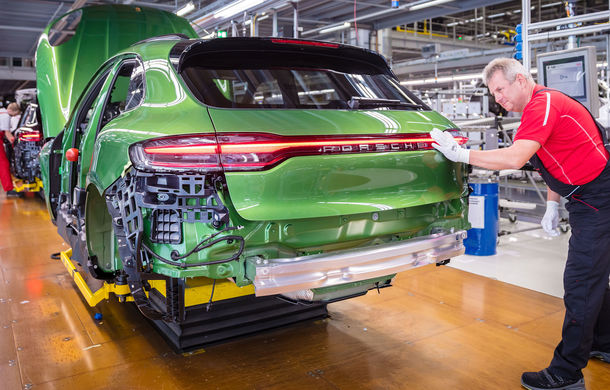 Porsche a dat startul producției lui Macan facelift: primul exemplar va ajunge la un client din China - Poza 3