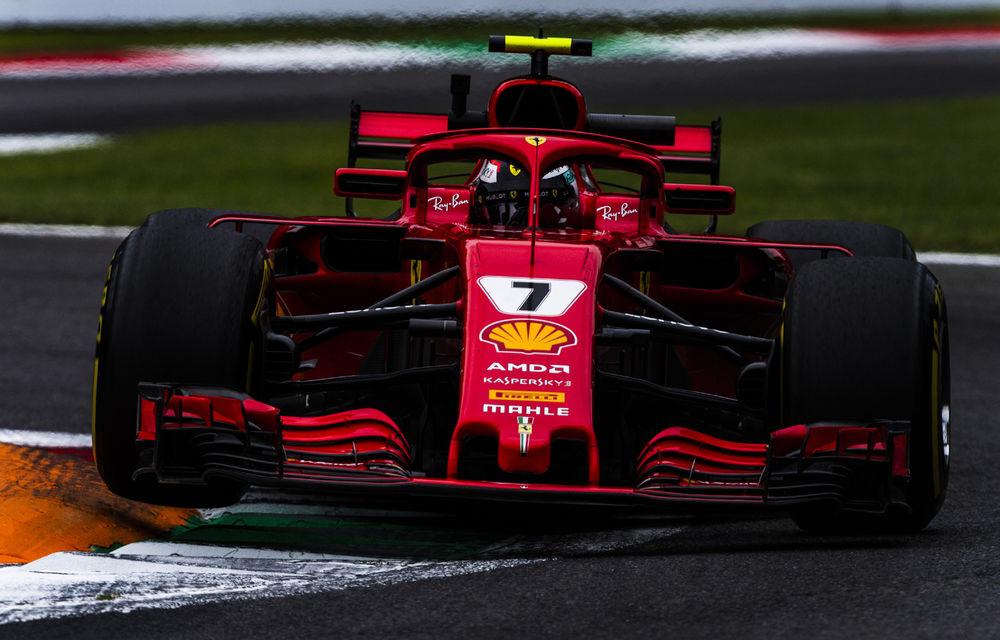 Raikkonen, pole position la Monza în fața lui Vettel! Hamilton și Bottas ocupă a doua linie a grilei - Poza 1
