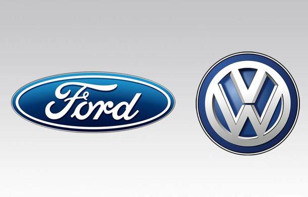 """Volkswagen, despre un posibil parteneriat cu Ford: """"Vrem să avem o alianță strategică și echilibrată"""" - Poza 1"""