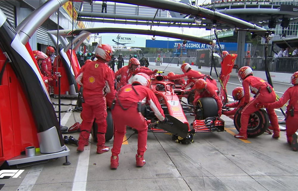 Hamilton a câștigat cursa de la Monza după un acroșaj la start cu Vettel și o depășire asupra lui Raikkonen. Bottas a completat podiumul - Poza 4