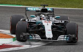 Hamilton a câștigat cursa de la Monza după un acroșaj la start cu Vettel și o depășire asupra lui Raikkonen. Bottas a completat podiumul