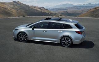 Primele imagini cu Toyota Corolla Touring Sports: break-ul preia motorizările versiunii hatchback