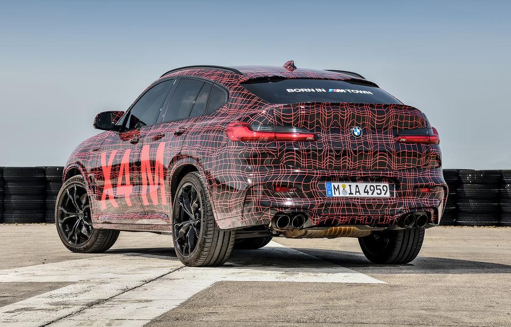 Primele imagini cu BMW X3 M și X4 M: modificări estetice consistente și tracțiune integrală inteligentă M xDrive - Poza 16