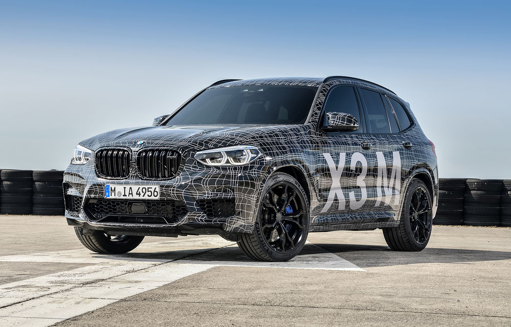 Primele imagini cu BMW X3 M și X4 M: modificări estetice consistente și tracțiune integrală inteligentă M xDrive - Poza 7