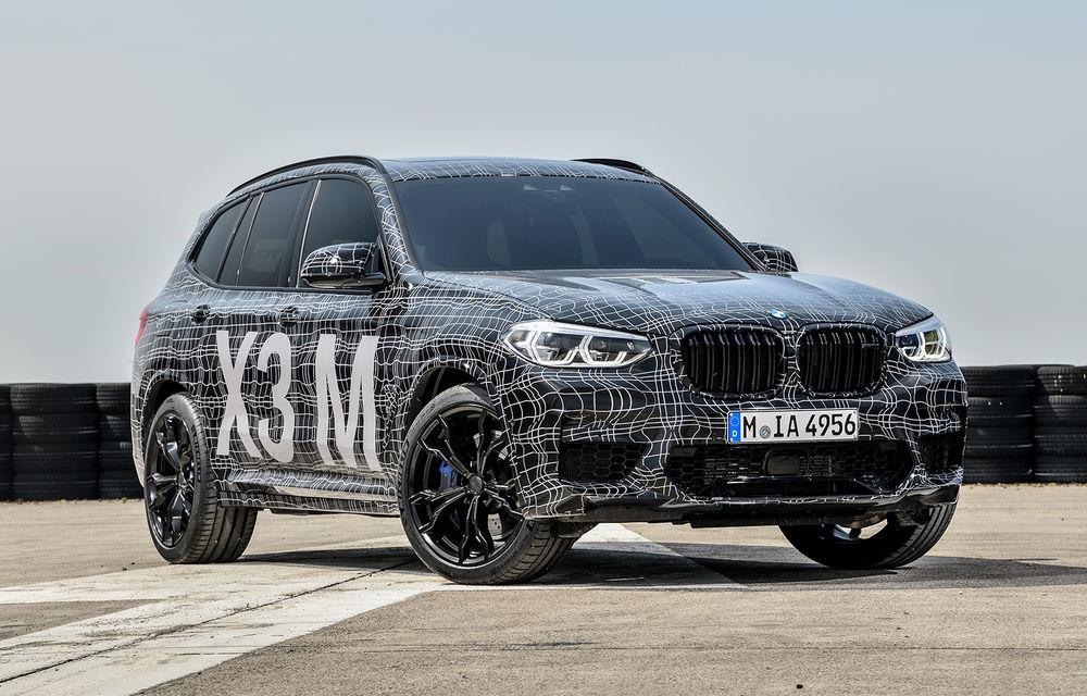 Primele imagini cu BMW X3 M și X4 M: modificări estetice consistente și tracțiune integrală inteligentă M xDrive - Poza 5
