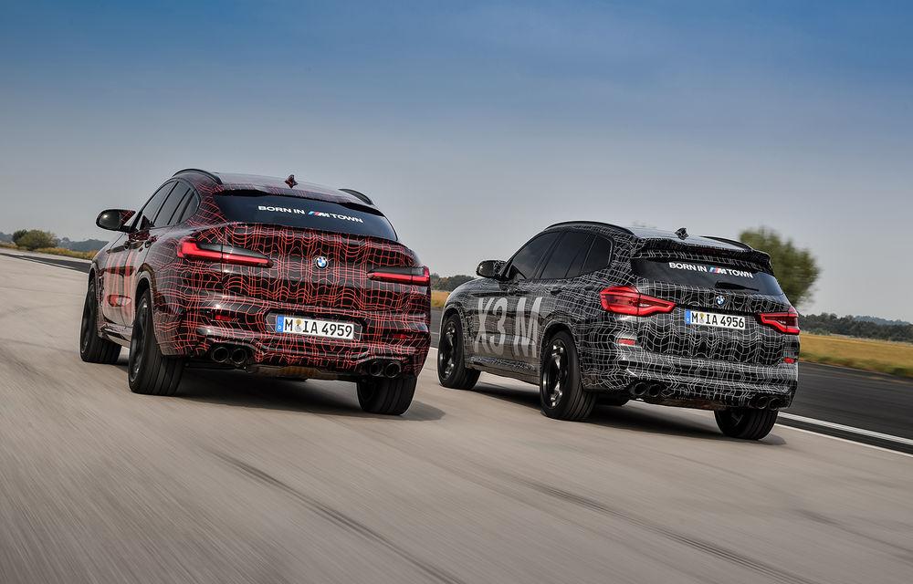 Primele imagini cu BMW X3 M și X4 M: modificări estetice consistente și tracțiune integrală inteligentă M xDrive - Poza 24
