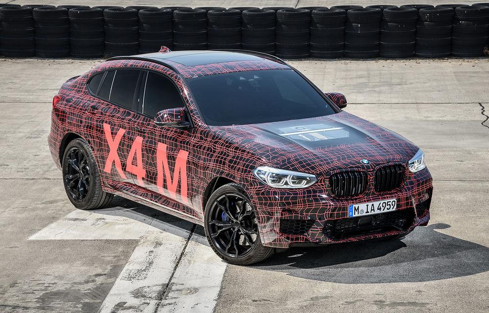 Primele imagini cu BMW X3 M și X4 M: modificări estetice consistente și tracțiune integrală inteligentă M xDrive - Poza 17