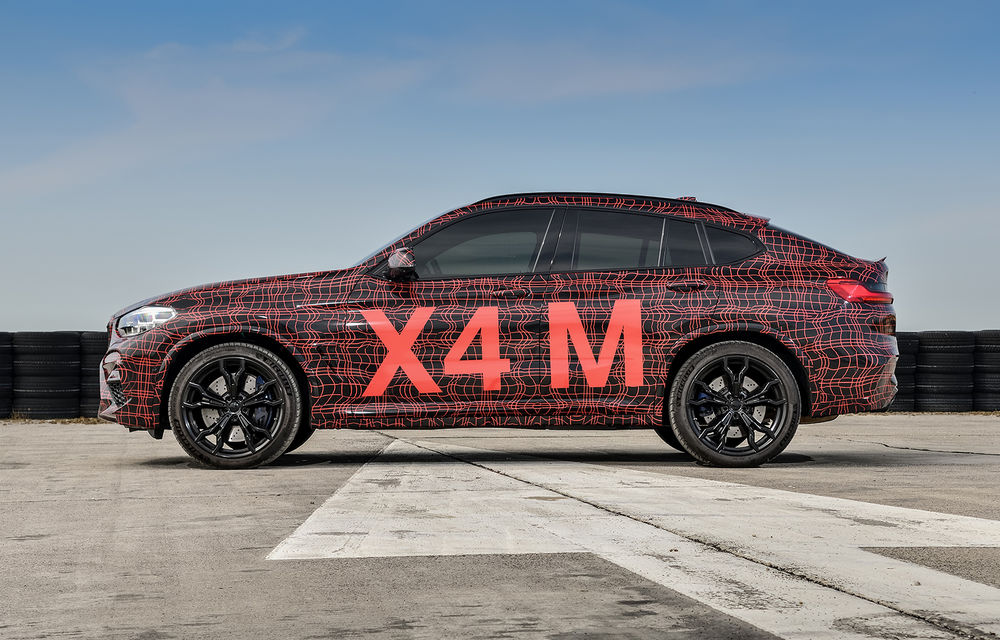 Primele imagini cu BMW X3 M și X4 M: modificări estetice consistente și tracțiune integrală inteligentă M xDrive - Poza 13