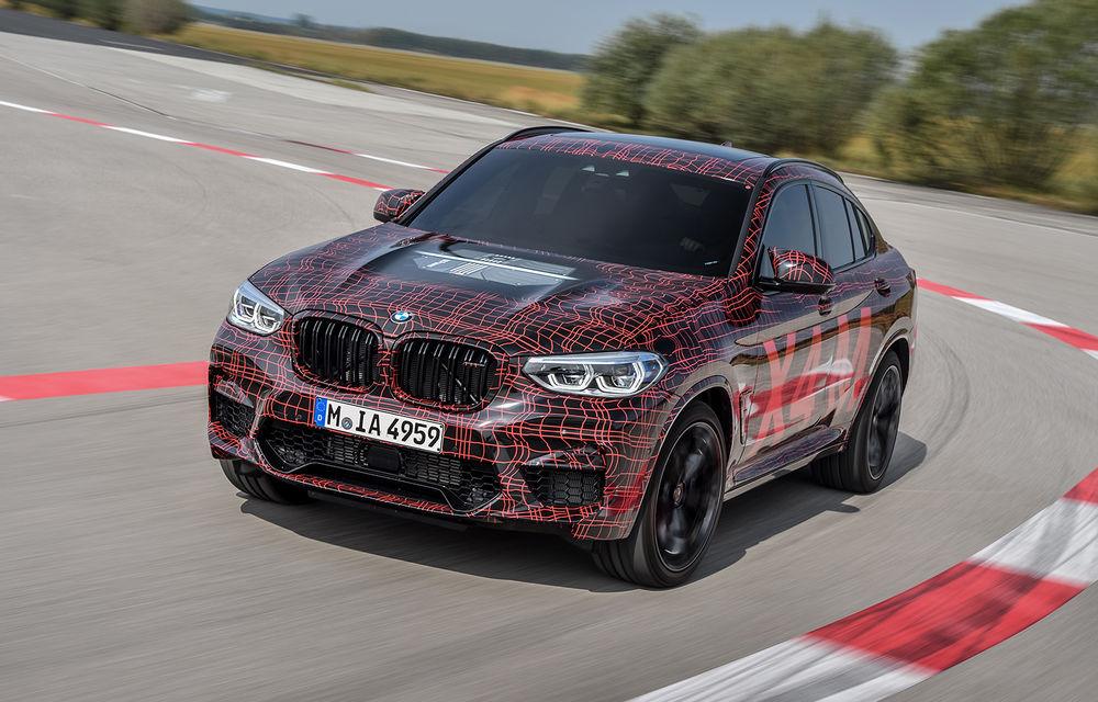 Primele imagini cu BMW X3 M și X4 M: modificări estetice consistente și tracțiune integrală inteligentă M xDrive - Poza 12