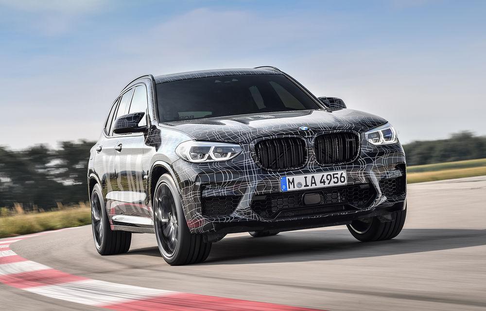 Primele imagini cu BMW X3 M și X4 M: modificări estetice consistente și tracțiune integrală inteligentă M xDrive - Poza 10