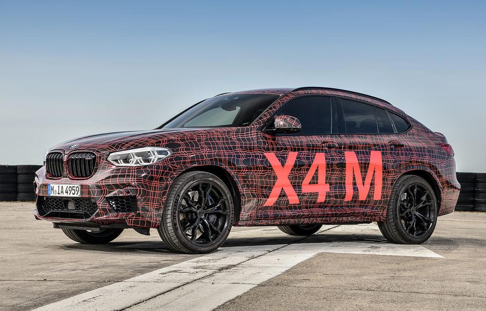 Primele imagini cu BMW X3 M și X4 M: modificări estetice consistente și tracțiune integrală inteligentă M xDrive - Poza 14