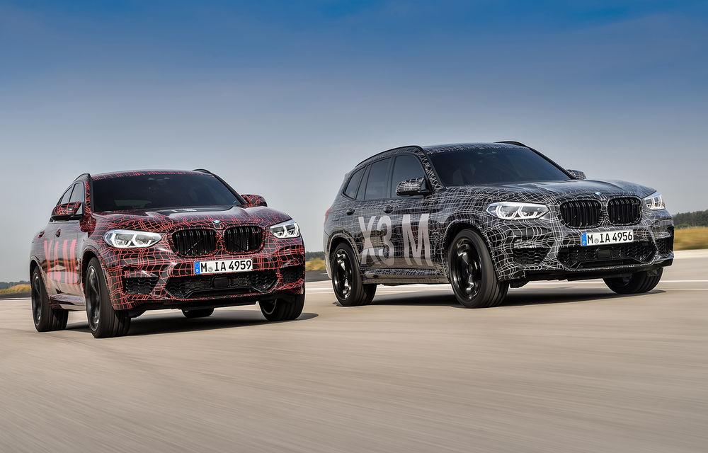 Primele imagini cu BMW X3 M și X4 M: modificări estetice consistente și tracțiune integrală inteligentă M xDrive - Poza 21