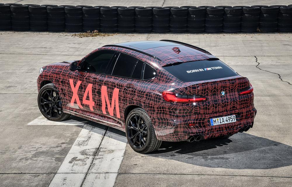 Primele imagini cu BMW X3 M și X4 M: modificări estetice consistente și tracțiune integrală inteligentă M xDrive - Poza 18