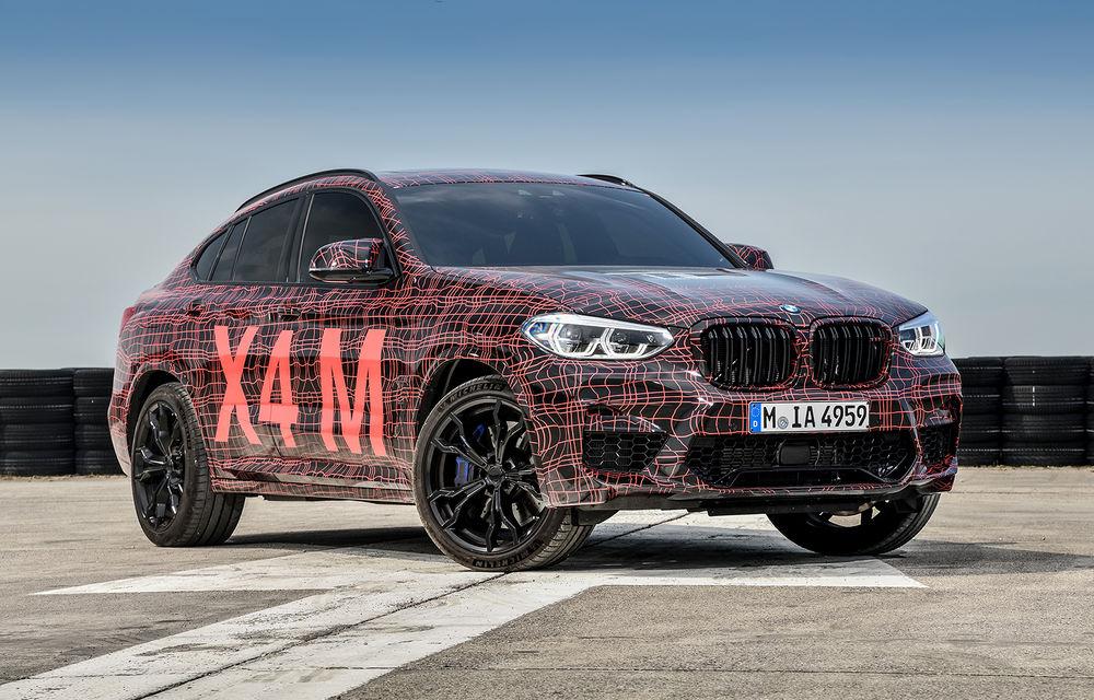 Primele imagini cu BMW X3 M și X4 M: modificări estetice consistente și tracțiune integrală inteligentă M xDrive - Poza 15
