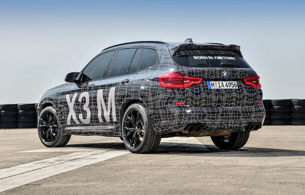 Primele imagini cu BMW X3 M și X4 M: modificări estetice consistente și tracțiune integrală inteligentă M xDrive - Poza 8