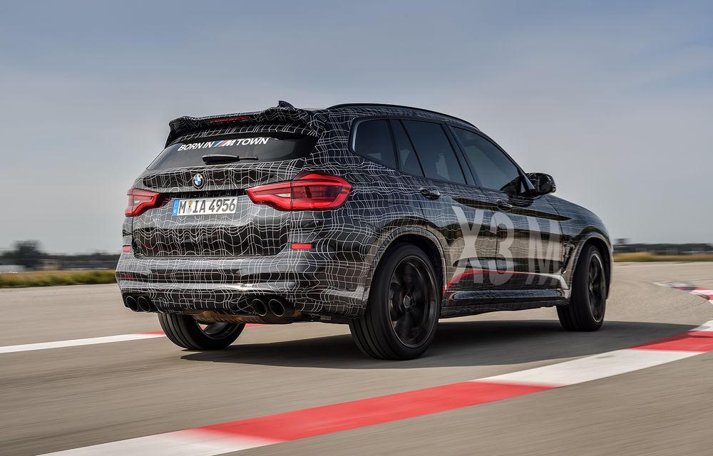 Primele imagini cu BMW X3 M și X4 M: modificări estetice consistente și tracțiune integrală inteligentă M xDrive - Poza 6